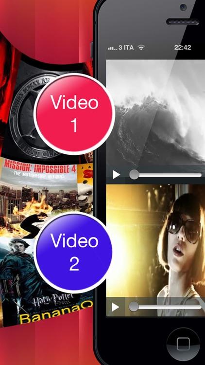 Double Video Player Pro screenshot-3