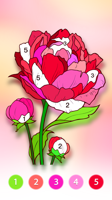 Coloring Fun : Color by Number screenshot 3