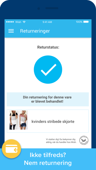 Screenshot for Wish - Shopping gjort sjovt in Denmark App Store