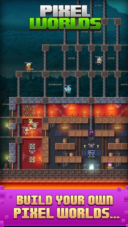 Pixel Worlds: MMO Sandbox screenshot-3