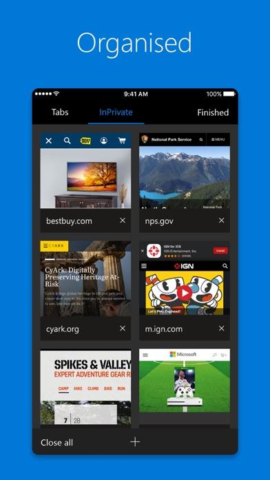 Microsoft Edge Screenshots