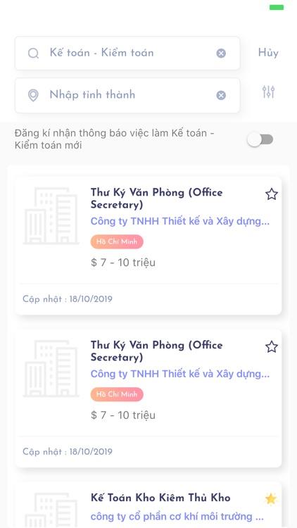 Tìm việc làm và tuyển dụng 365 screenshot-4