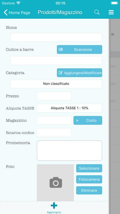 Screenshot of Tap POS vendite di inventario10