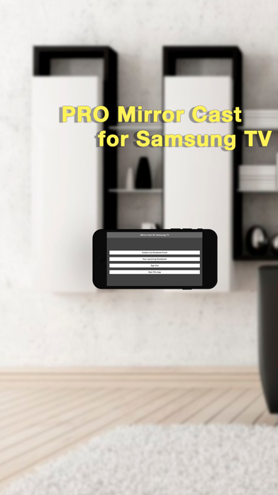 Pro Mirror Cast for Samsung TV Screenshots