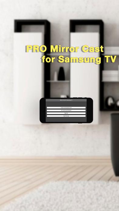 Pro Mirror Cast for Samsung TV Screenshots