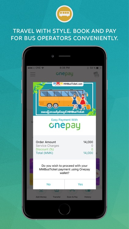 Onepay - A Better Way to Pay screenshot-3