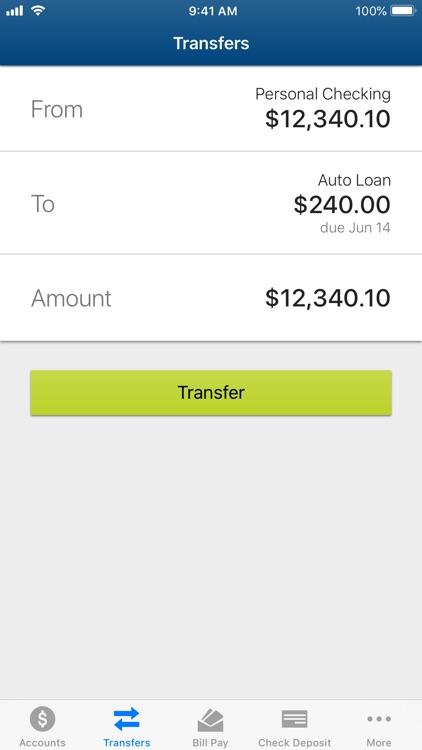 Vibe Credit Union Mobile screenshot-3