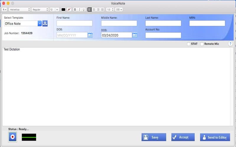eCareNotes скриншот программы 6