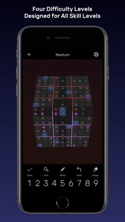 Sudoku Evolved - 3D Puzzles screenshot-1