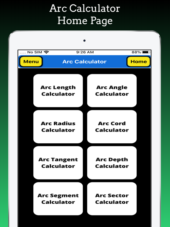Arc Calculator Pro screenshot 9