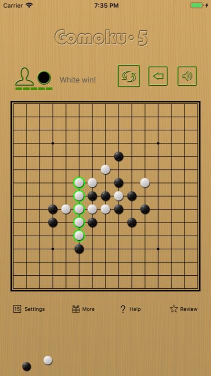 Gomoku∙5 - line five in a row