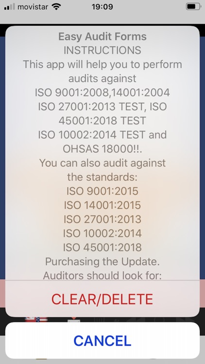 Easy ISO and OHSAS Audits screenshot-0
