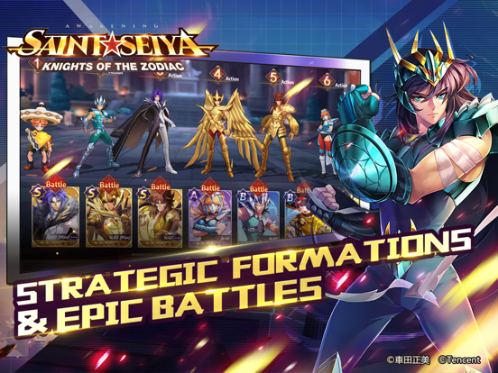 Saint Seiya Awakening screenshot 11