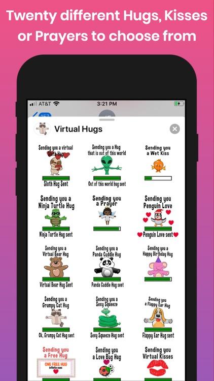 Virtual Hugs, Kisses & Prayers