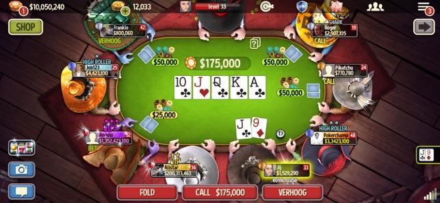 Governor Of Poker 3 Online In De App Store