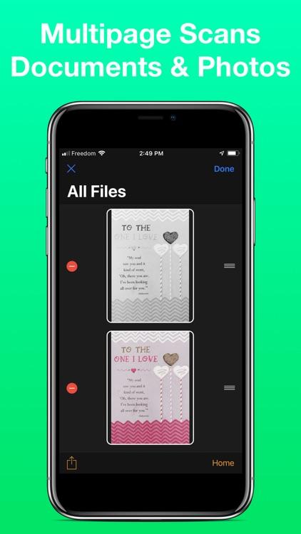 iPrint&Scan Scanner & AirPrint screenshot-7