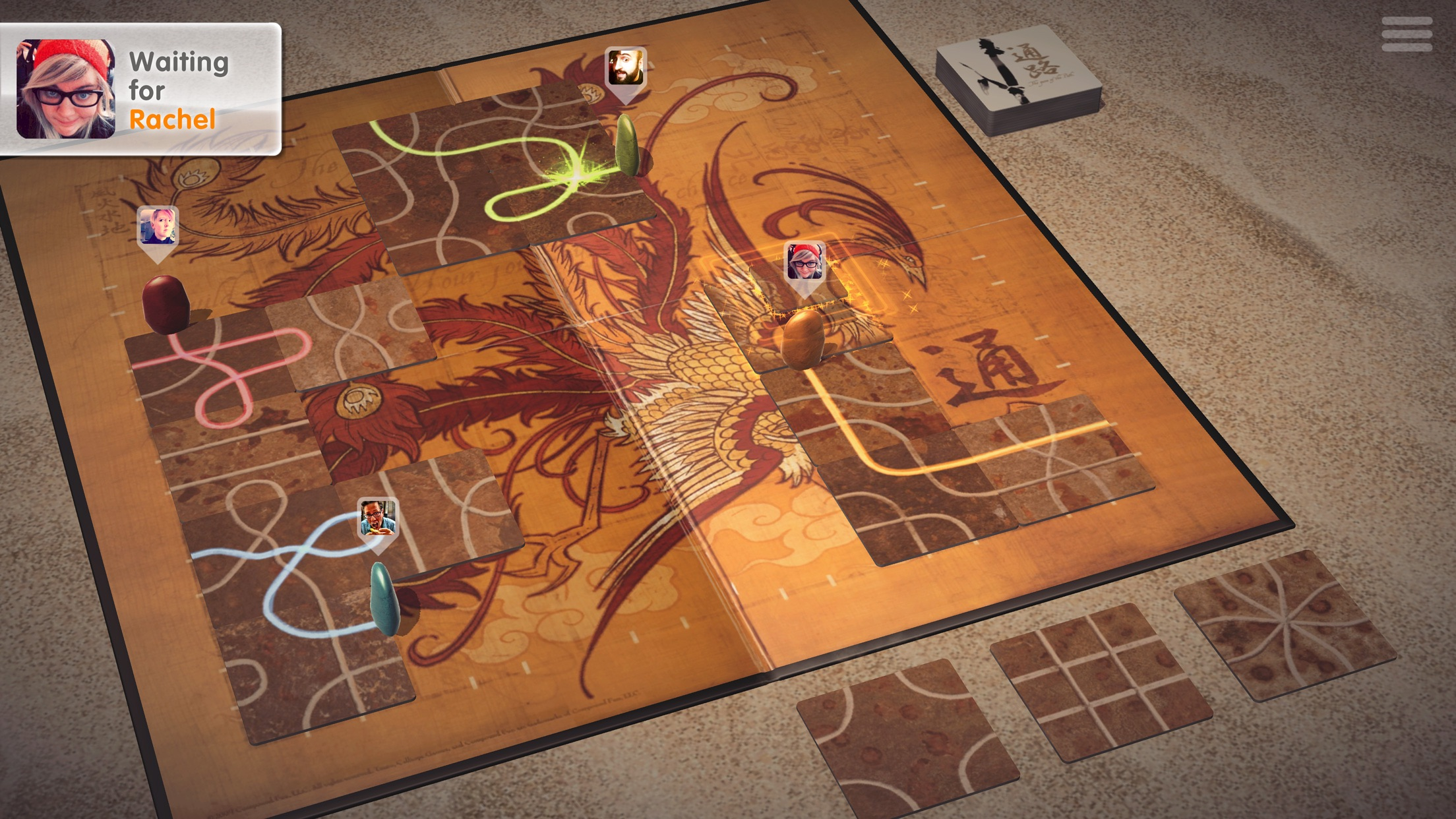 Screenshot do app Tsuro - The Game of the Path
