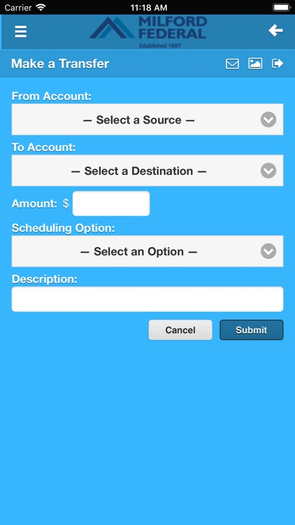 Milford Federal Mobile Banking screenshot-1