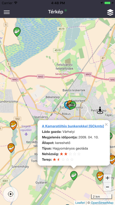 Geoládák screenshot one