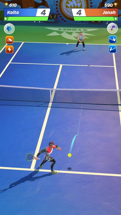 Tennis Clash: Fun Sports Games Screenshot 1