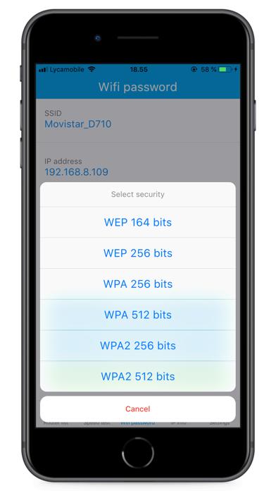 Wifiパスワードと速度のチェックのおすすめ画像6
