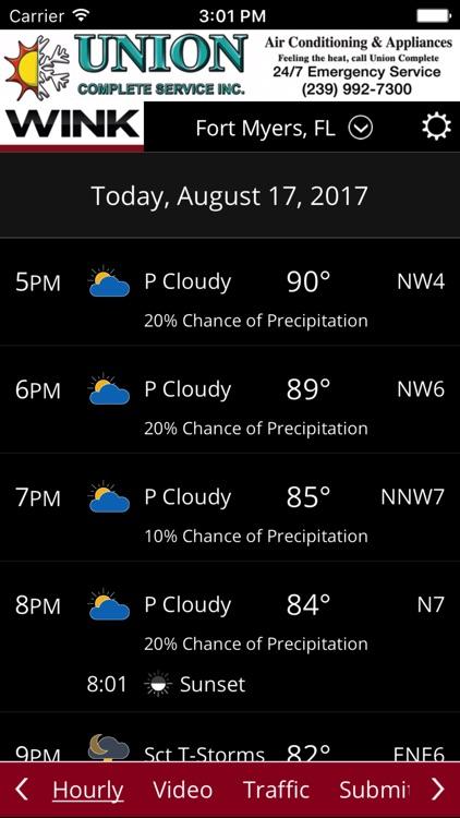 WINK Weather screenshot-4
