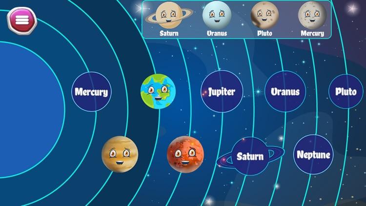 Kids Learn Solar System screenshot-3