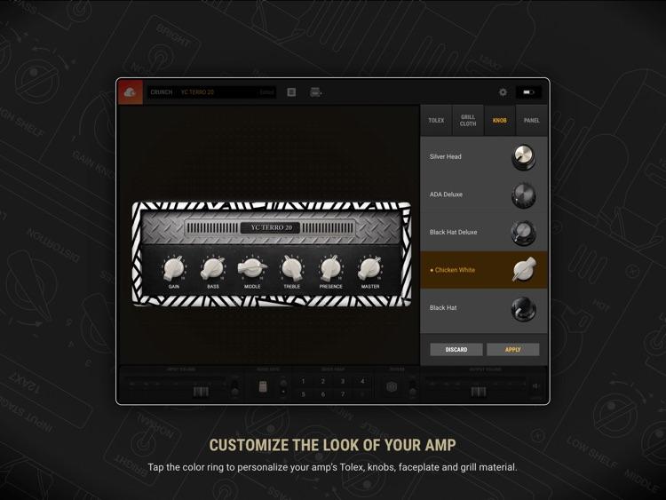 BIAS AMP 2 - for iPad screenshot-3