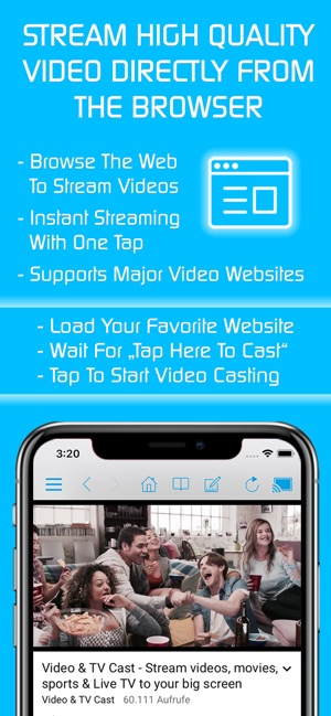 Video & TV Cast | Roku Player on the App Store