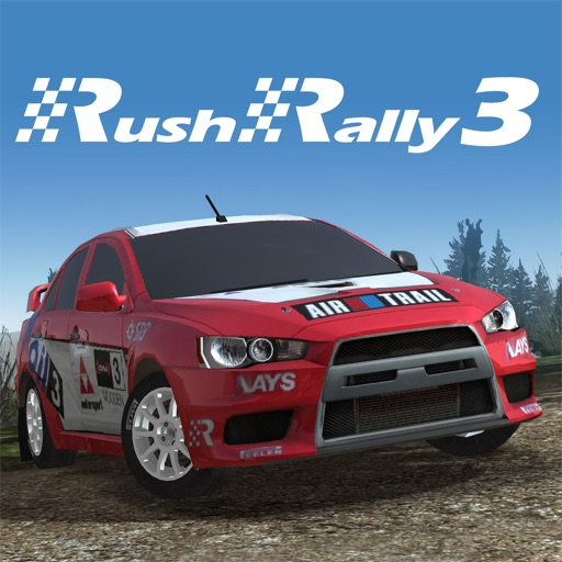 Rush Rally 3 app for ipad