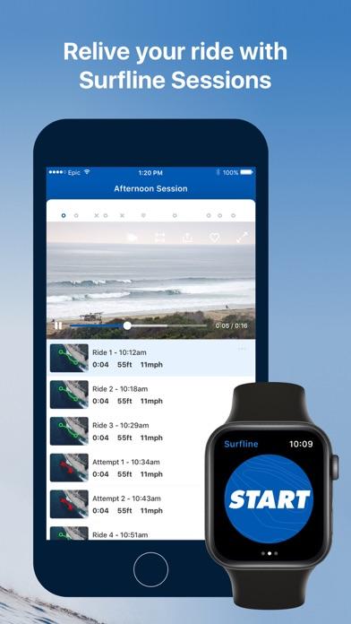 Surfline Screenshot