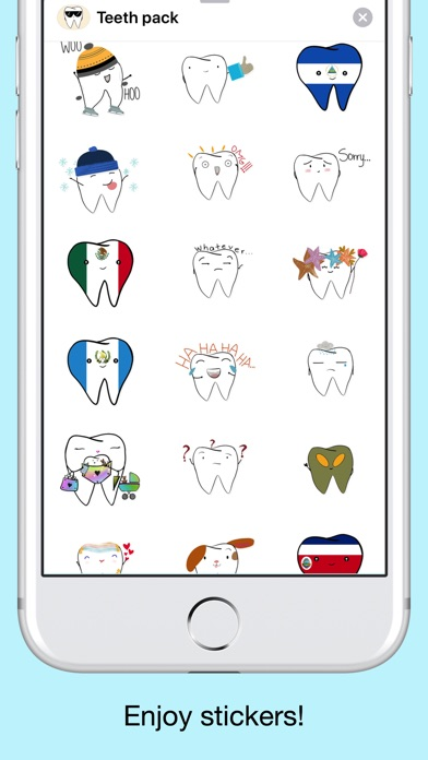 Teeth Emojis & Smiley stickers screenshot 5