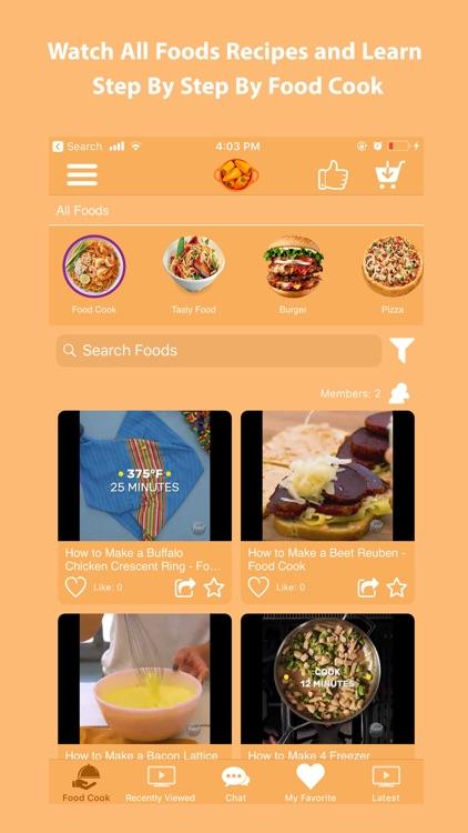 Cooking Food Recipes at Home screenshot-3