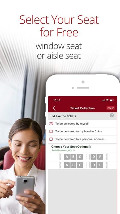 China Train Booking screenshot-3