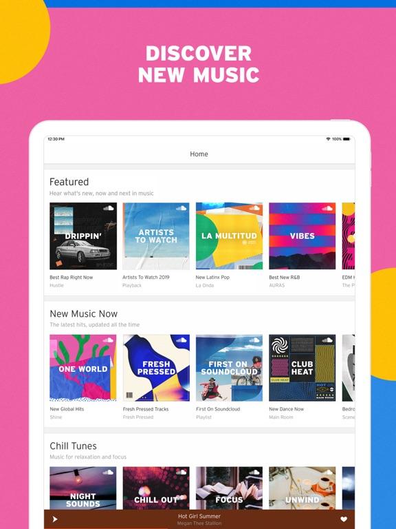 iPad Image of SoundCloud - Music & Audio