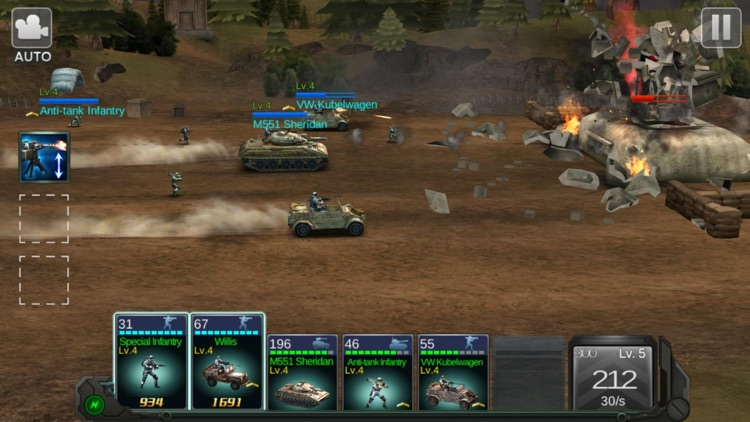 Commander Battle screenshot-7