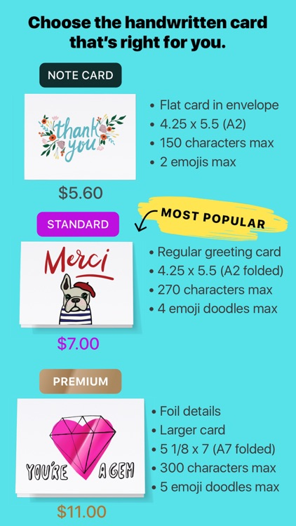 Punkpost Greeting Cards screenshot-6
