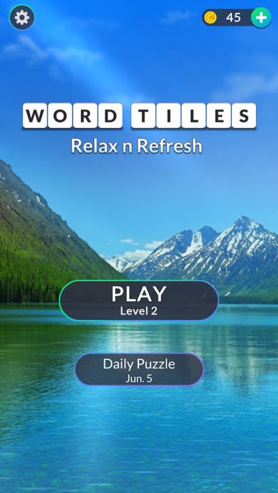 Word Tiles: Relax n Refresh screenshot 6