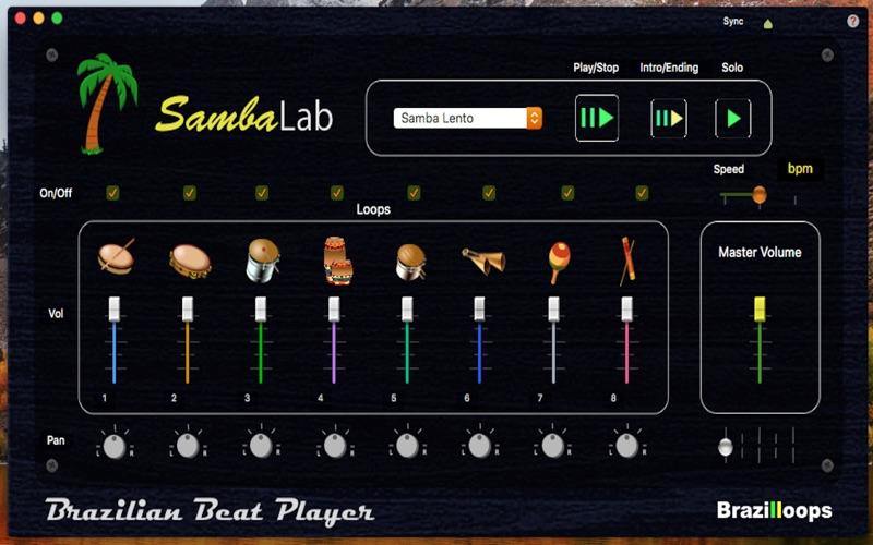 SambaLab screenshot 1