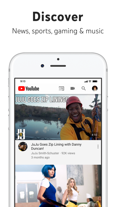 Screenshot for YouTube: Watch, Listen, Stream in Hong Kong App Store