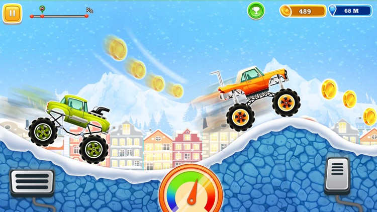 Monster Truck Climb Rush screenshot-3