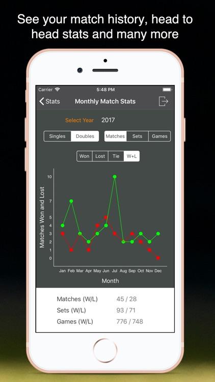 TennisKeeper: Swings & Scores screenshot-6
