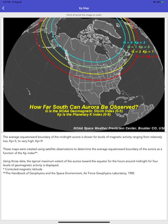 Aurora Forecast & Alerts screenshot 16