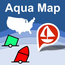 Aqua Map US - Marine & Lakes