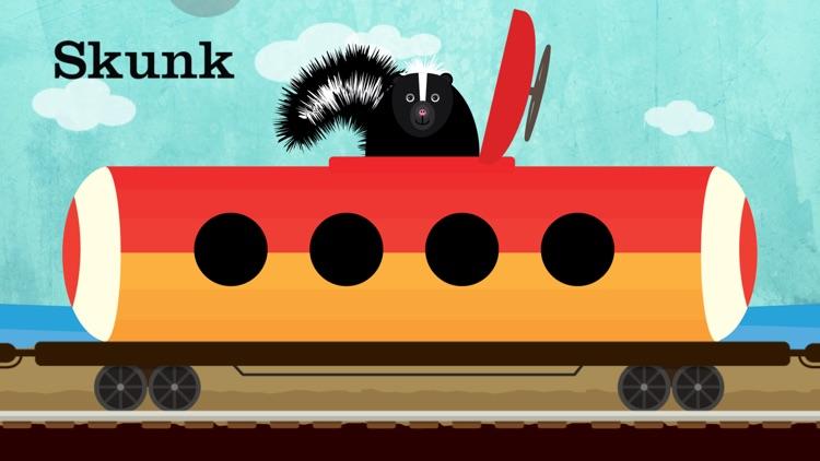 Peek-a-Zoo Train screenshot-5
