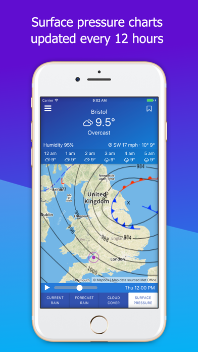 UK Weather Maps and Forecast screenshot two