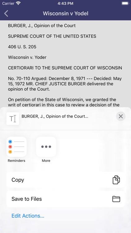 Supreme Court Decisions screenshot-3