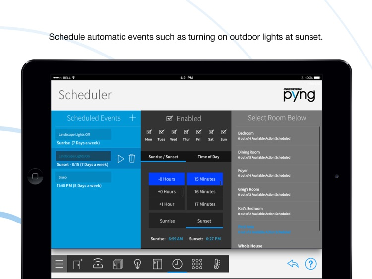 Crestron Pyng for iPad screenshot-3