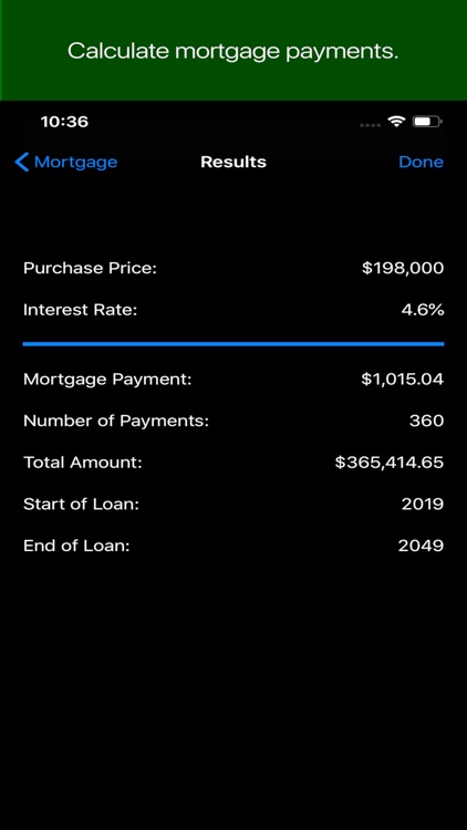 Mortgage Debt Calculator