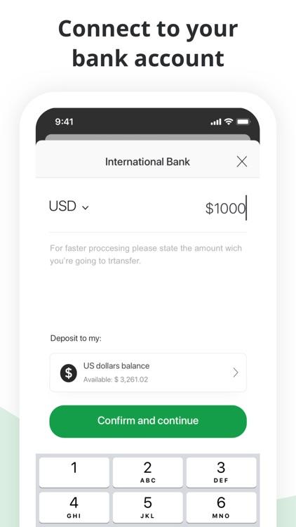 Bitstamp – crypto exchange app screenshot-4